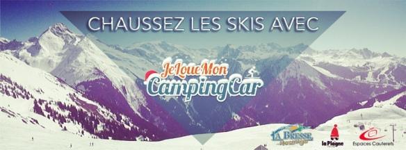 Chaussez les skis avec JeLoueMonCampingCar