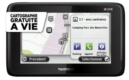 Gps camping car TomTom Go Live Camper