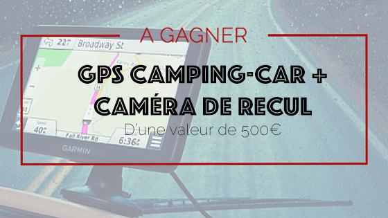 GPS Camping-car a gagner