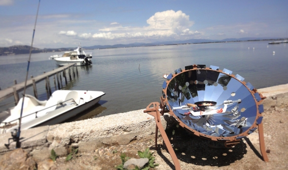 Barbecue solaire